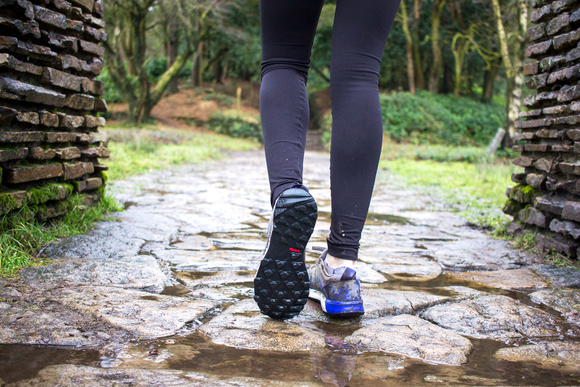 How To Keep Running When The Weather Sucks | Soles of Trail Shoes | awaywithkatie.com