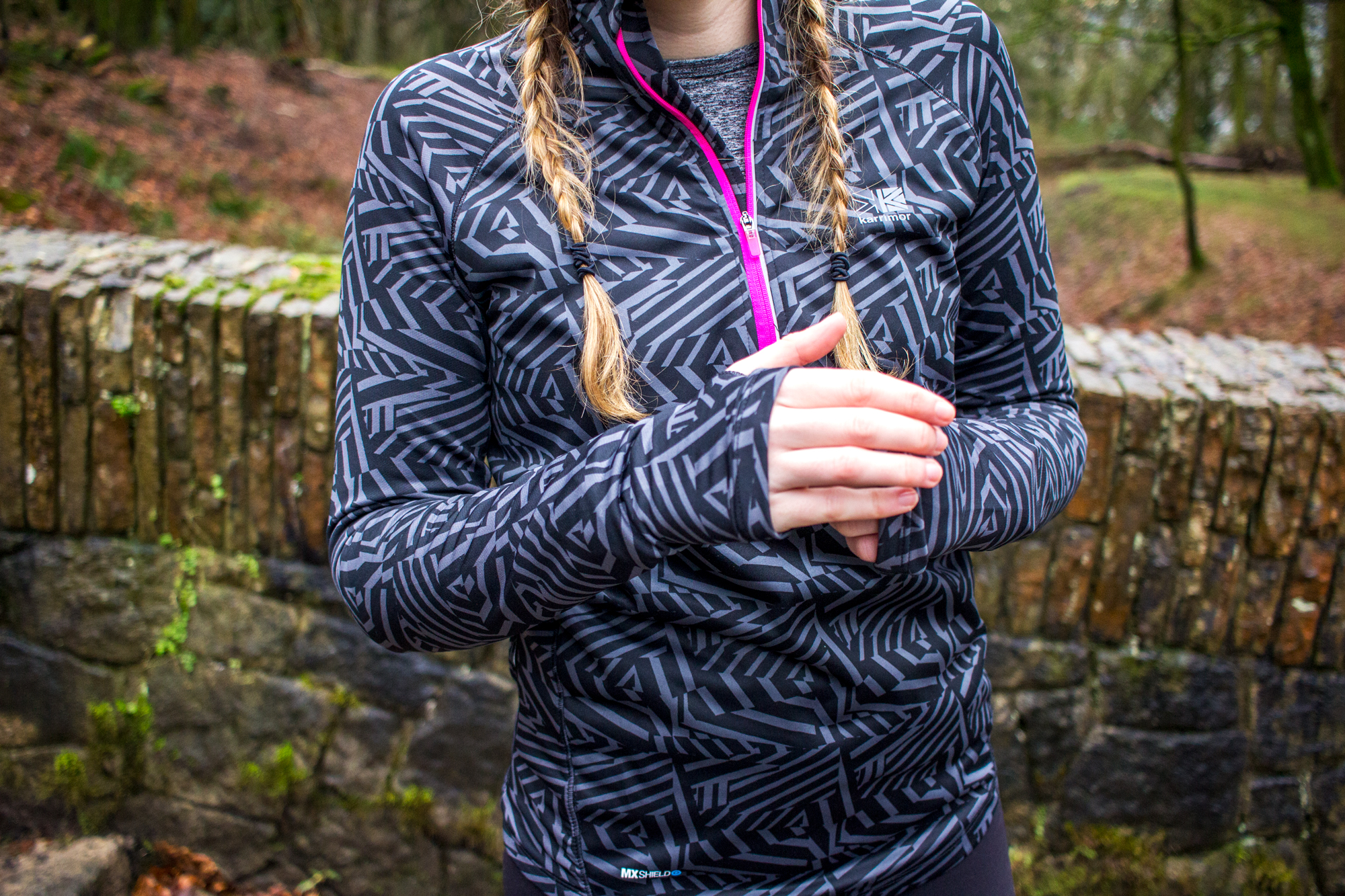 How To Keep Running When The Weather Sucks | Girl in Windproofed Jacket | awaywithkatie.com