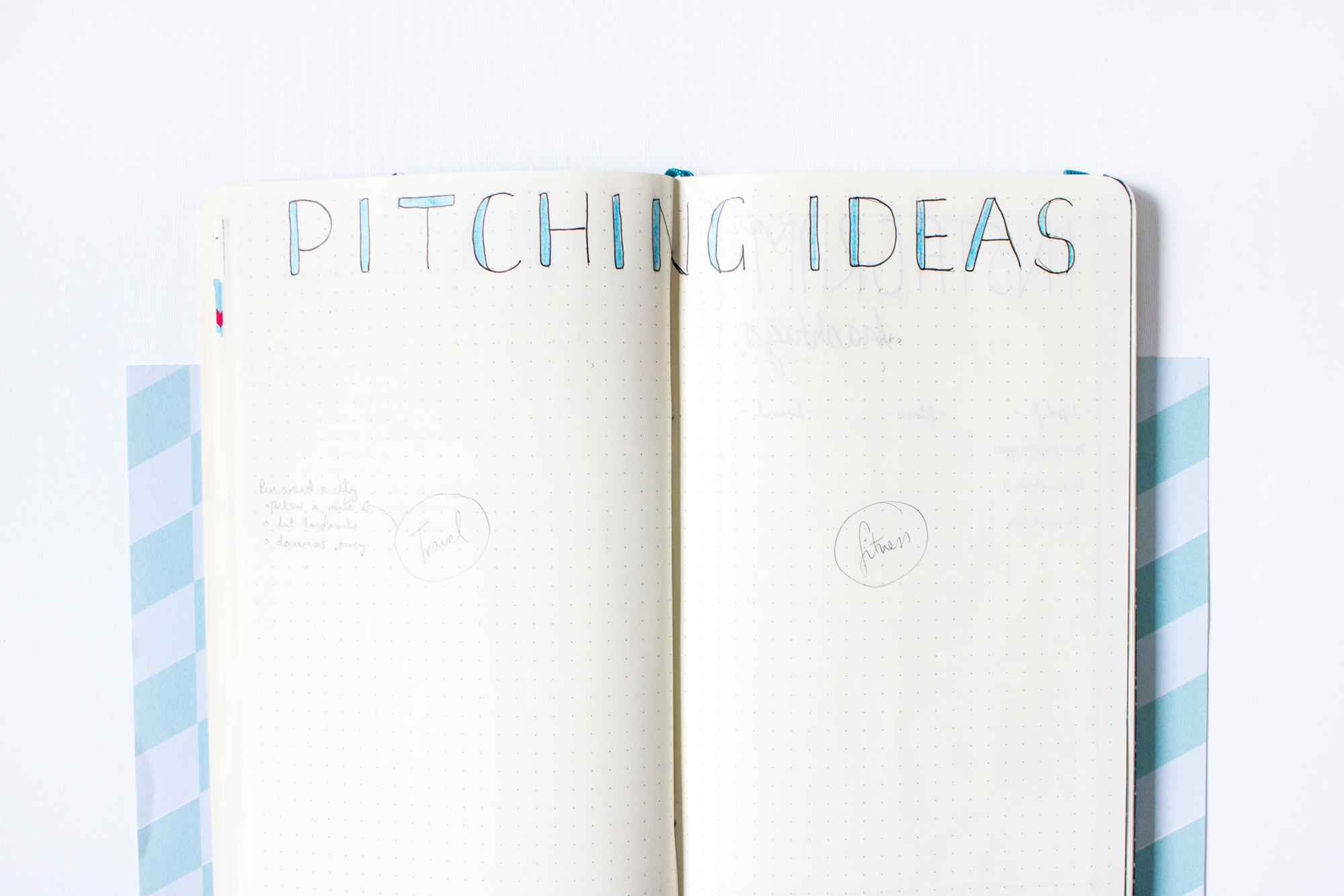 5 Pages to Add to Your Blogger Bullet Journal | Pitching | awaywithkatie.com