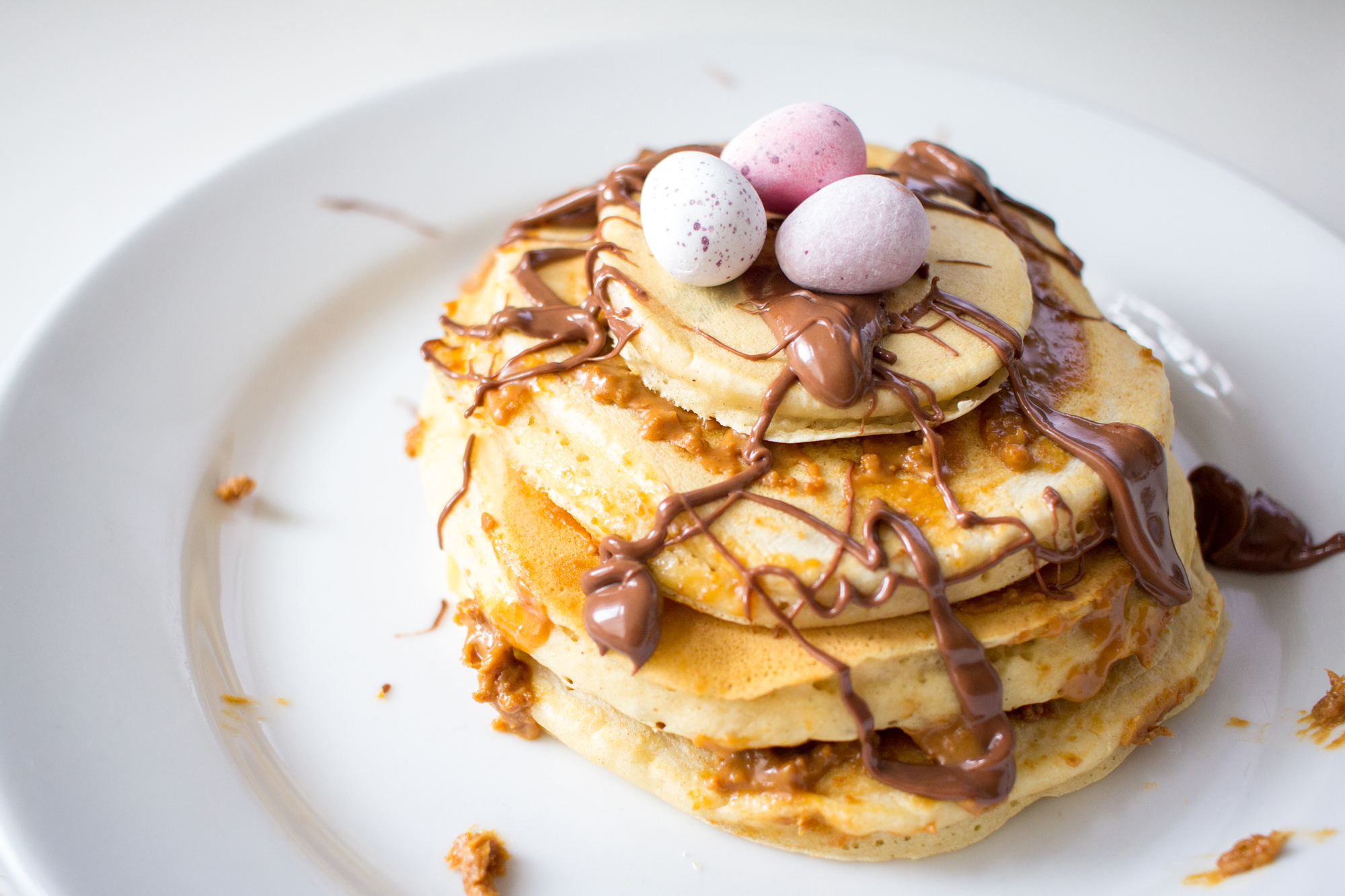The First Quarter - What's Going on | Easter Sunday Pancakes | awaywithkatie.com