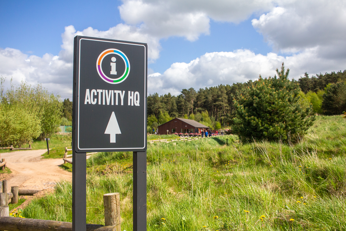 5 Things To Expect at Center Parcs Whinfell Forest | Activity HQ Building | awaywithkatie.com