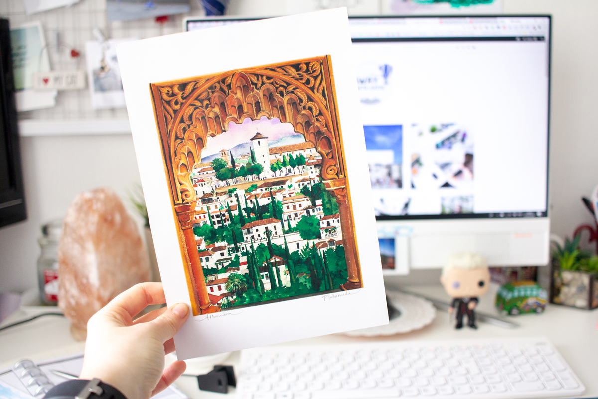 Finding Art to Create Memorable Travel Souvenirs | Granada White House Views | awaywithkatie.com