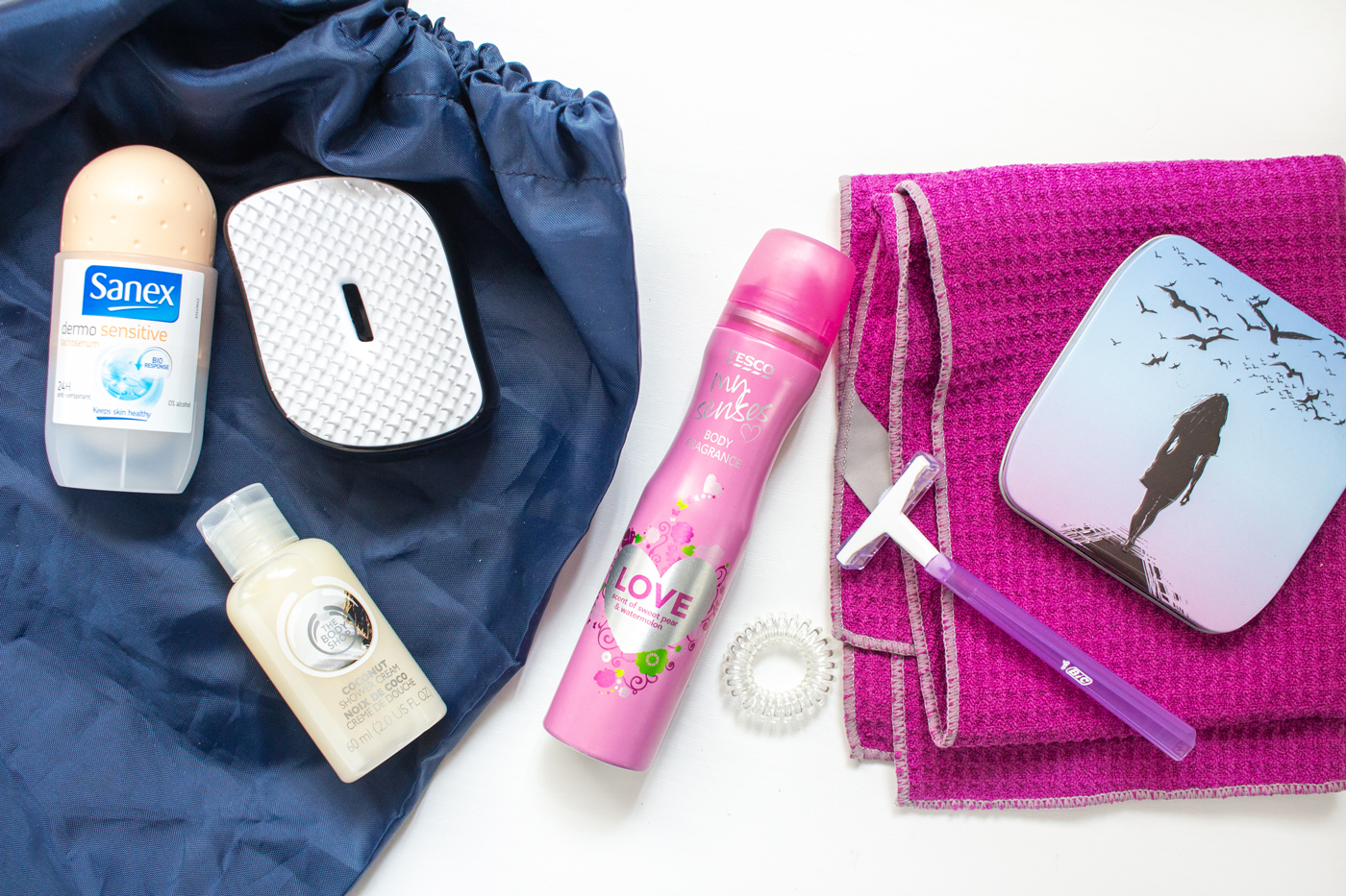 The Gym Bag Essentials: Useful Gym Kit To Always Have | Freshening Up Tools | awaywithkatie.com