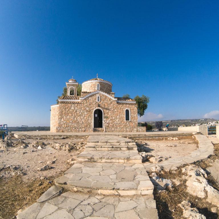 Chapel of Prophet Elias in Protaras Cyprus