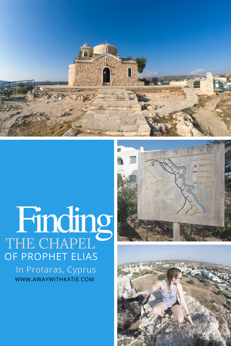 Finding the Chapel of Prophet Elias in Protaras Cyprus | awaywithkatie.com