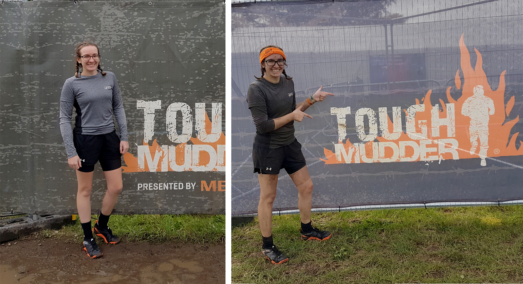 Tough Mudder Before/After Comparison