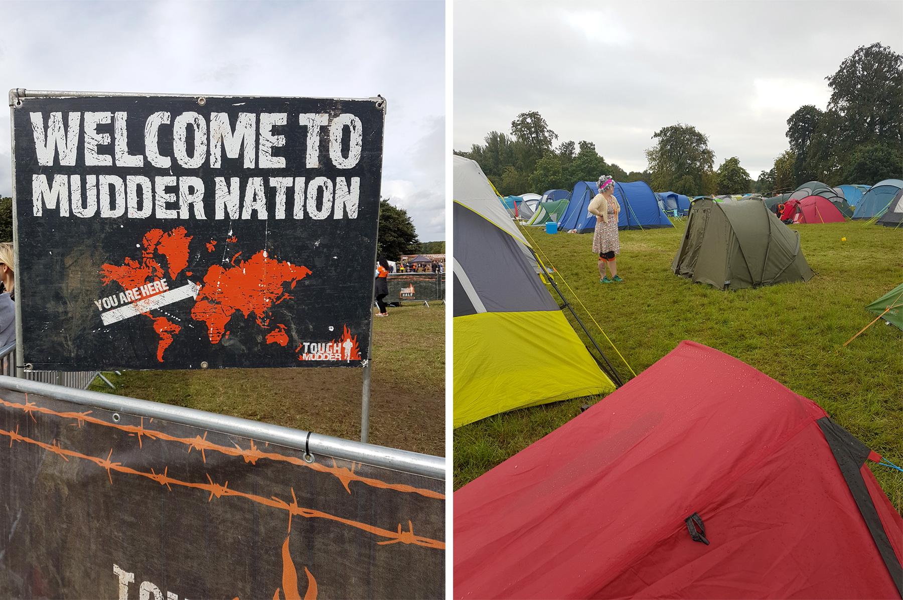 Tough Mudder Camping