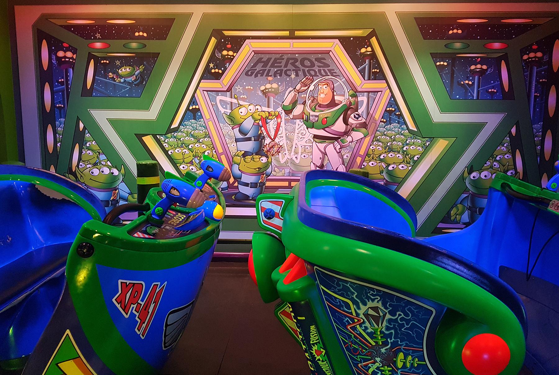 Buzz Lightyear Ride  | 9 Tips for Disneyland Paris