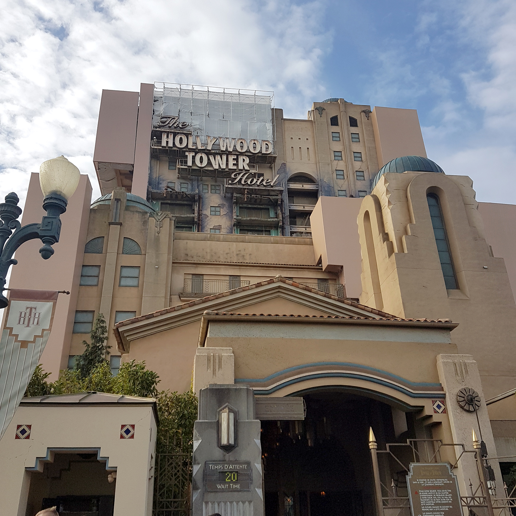 Tower of Terror Ride  | 9 Tips for Disneyland Paris