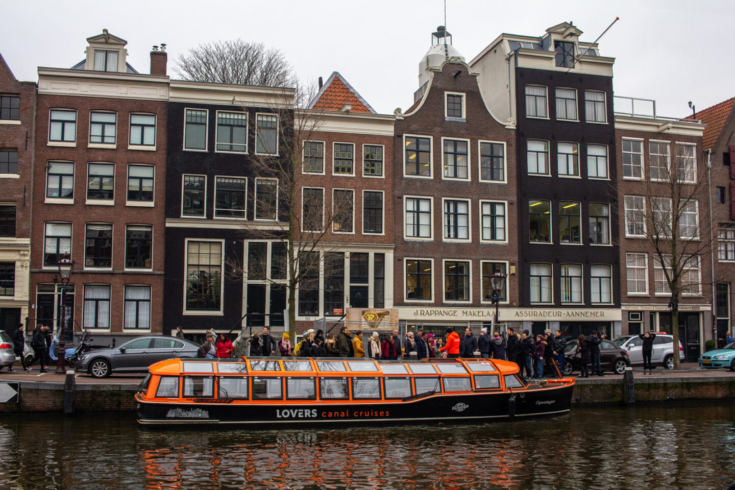 Lovers Canal Cruises in Amsterdam