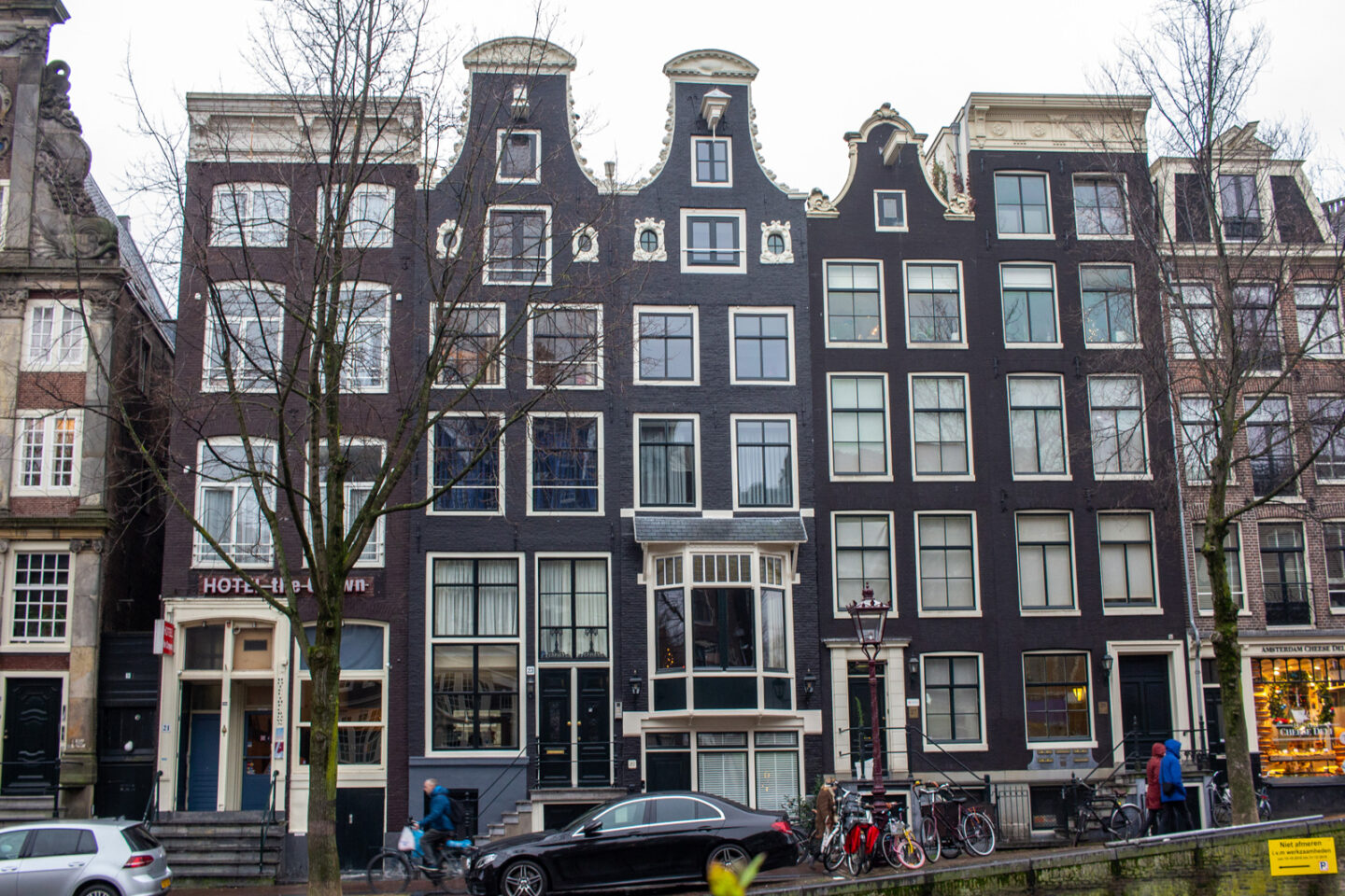 Quirky Amsterdam buildings