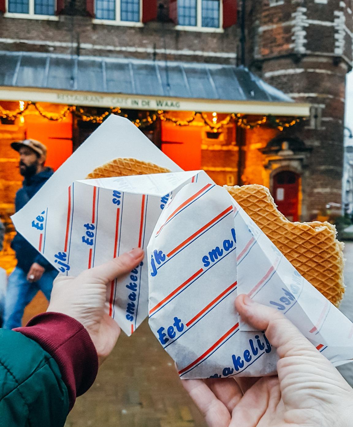 Amsterdam fresh stroopwafels