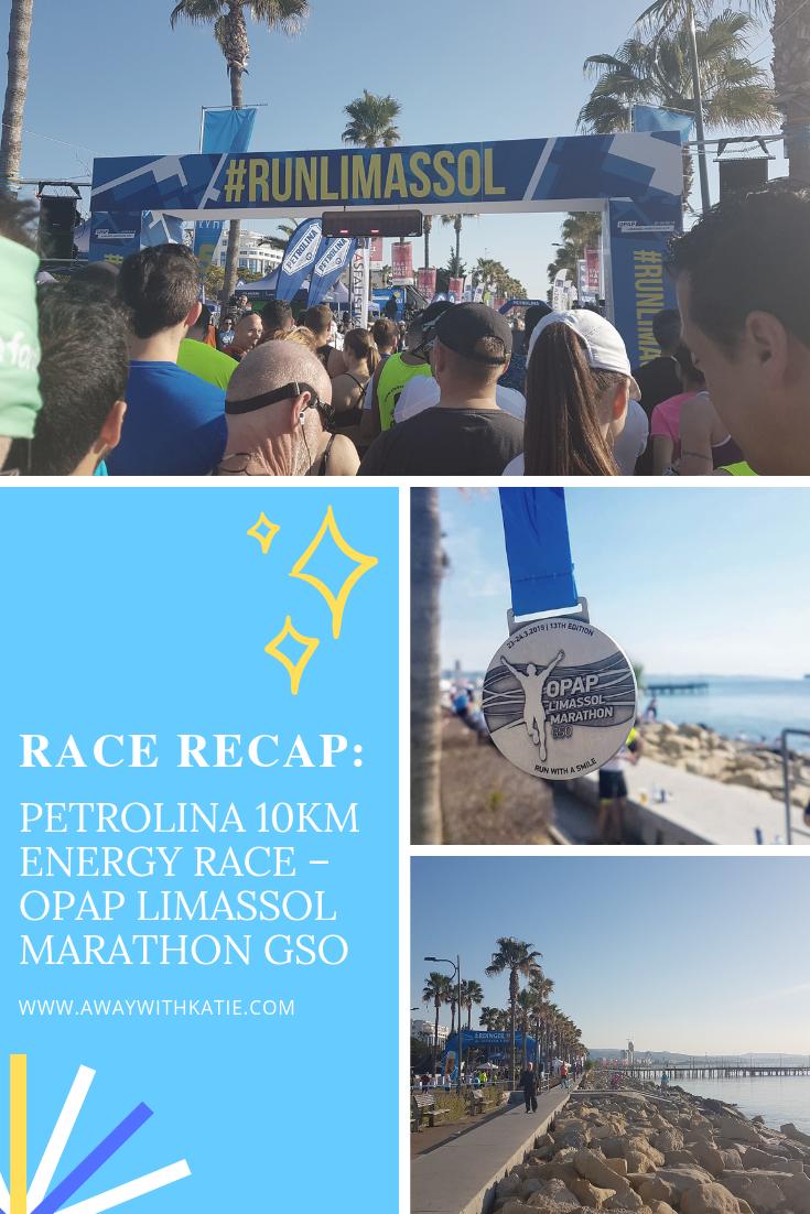 Race Recap: Petrolina 10km Energy Race - OPAP Limassol Marathon GSO   awaywithkatie.com